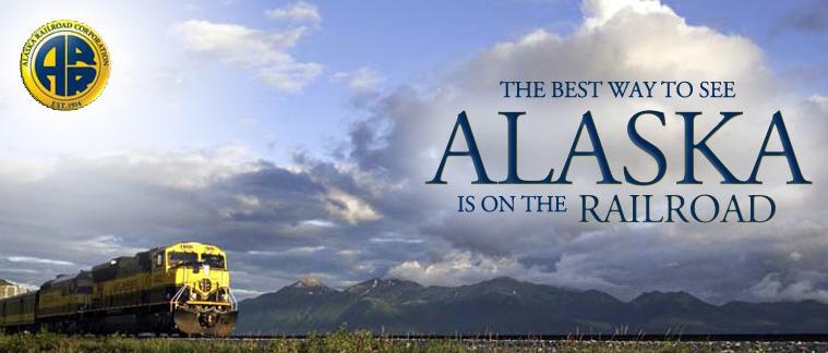 Alaska Railroad - Alaska, USA